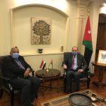 الأردن ومصر يؤكدان على الحل العادل للقضية الفلسطينية وفقا للشرعية الدولية