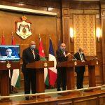 اجتماع خماسي بالأردن يؤكد: لا سلام إلا بحل القضية الفلسطينية