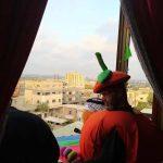 غزة.. مبادرات ترفيهية ودبكة شعبية للتوعية بمخاطر كورونا
