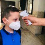 بدء العام الدراسي الجديد في الضفة الغربية وسط إجراءات صحية عالية لمواجهة كورونا