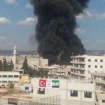 قتلى وجرحى في انفجار سيارة مفخخة بعفرين السورية