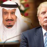 الملك سلمان وترامب يبحثان قضايا المنطقة وأعمال مجموعة العشرين