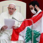 ابتسامة عريضة ودعاء للبنان في أول لقاء مفتوح للبابا فرنسيس منذ 6 أشهر