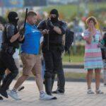 شرطة روسيا البيضاء تلقي القبض على عشرات المحتجين