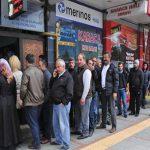 ارتفاع معدل البطالة في تركيا إلى 13.4 % والكثيرون يبحثون عن عمل