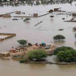 مدينة كاملة تحت مياه الفيضان في السودان