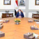 السيسي يطلع على آخر تطورات مشروع المليون ونصف فدان