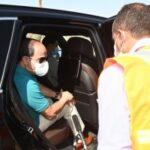 السيسي يتفقد تنفيذ المحاور والطرق في شرق القاهرة