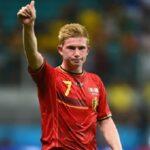 دي بروين يغيب عن مباراة بلجيكا الأولى أمام روسيا