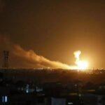 غارة إسرائيلية على القنيطرة في سوريا