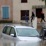 قتيل و19 مفقودا إثر فيضانات عارمة في فرنسا وإيطاليا