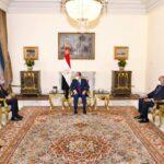 السيسي: هدفنا استعادة الاستقرار في ليبيا من خلال المسار السياسي