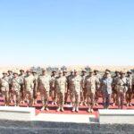 وزير الدفاع المصري يشهد «المناورة ردع» بالذخيرة الحية