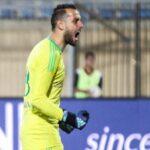 بسام حارس طلائع الجيش يقضي على آمال بيراميدز في كأس مصر