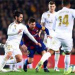 ريال مدريد يحل ضيفًا على غريمة التقليدي برشلونة في الدوري الإسباني