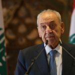 نبيه بري: الوضع الحكومي في لبنان مسدود بالكامل