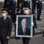 تايوان تشيع رئيسها السابق لي تينج-هوي مؤسس الديمقراطية في البلاد
