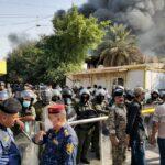تفاصيل جديدة لحرق مقر الحزب الديمقراطي في بغداد
