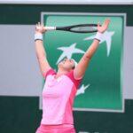 التونسية أنس جابر أول عربية تبلغ ثمن نهائي بطولة رولان جاروس