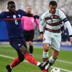 تعادل سلبي بين فرنسا والبرتغال في دوري الأمم