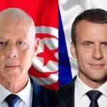 الرئاسة التونسية: قيس سعيد هاتف ماكرون