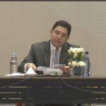 بوريطة يتعهد بدعم المغرب الحوار السياسي لإنهاء الأزمة اللييية