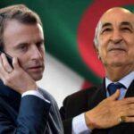 أول اتصال بين ماكرون وتبون منذ دخول الرئيس الجزائري المستشفى