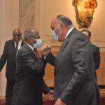 مصر وإريتريا يبحثان سبل التعاون وتطوير المشروعات المشتركة