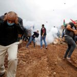 إصابات بالاختناق خلال مواجهات مع الاحتلال جنوب جنين