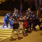 أول حادث طعن خلال احتجاجات على نتائج الانتخابات الأمريكية