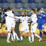إيطاليا تواصل سلسلة مثالية وتتقدم لنهائيات دوري الأمم الأوروبية