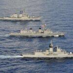 الهند وأمريكا وأستراليا واليابان تجري تدريبات بحرية كبرى