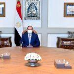السيسي يطالب الجيش المصري بالجاهزية لحماية الأمن القومي