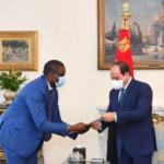 السيسي يتسلم رسالة من رئيس الكونغو الديمقراطية