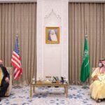 محمد بن سلمان يبحث مع بومبيو مستجدات الشرق الأوسط