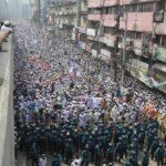 تظاهرات ضد فرنسا في دكا عاصمة بنجلادش