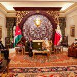 الملك الأردني والعاهل البحريني يبحثان تعزيز التعاون وقضايا المنطقة