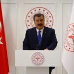 وزارة الصحة: 257 وفاة جديدة بفيروس كورونا في تركيا