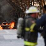 الشرطة الأمريكية تبحث عن أدلة في انفجار مدينة ناشفيل
