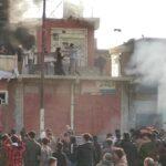 مقتل متظاهر وحرق مقار حزبية في السليمانية شمال العراق