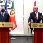 المالكي يدعو البرتغال لدعم حل الدولتين بالاعتراف بدولة فلسطين