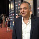 حفظي يحاور هامبتون المكرم بجائزة الهرم الذهبي التقديرية بالقاهرة السينمائي