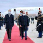 فيديو وصور | الرئيس المصري يصل إلى باريس