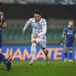 إنتر ميلان يفوز على هيلاس فيرونا بصعوبة في الدوري الإيطالي
