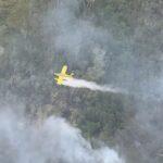 حرائق الغابات تهدد مناطق سياحية بجزيرة فريزر الأسترالية