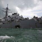 سفينتان حربيتان أمريكيتان تعبران مضيق تايوان.. والصين تندد