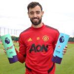 البرتغالي برونو فرنانديز يتوج بجائزة لاعب الشهر في الدوري الإنجليزي