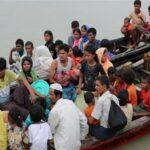 بنجلادش تنقل 3000 لاجئ من الروهينجا إلى جزيرة نائية