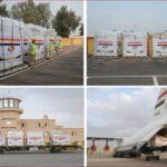 صور| مصر ترسل مساعدات طبية إلى مالي