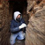 اكتشاف آثار رومانية أثناء بناء شبكة لتصريف المياه بقلب عمّان